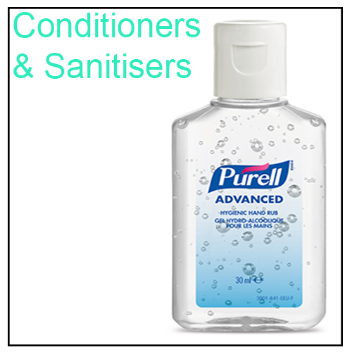 Conditioners & Sanitisers