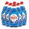 Fairy Anti Bacterial Washing Up Liquid - 6 x 750ml