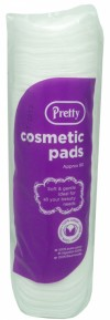 White Cosmetic Pads - Case of 12